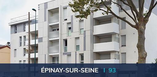 Programme immobilier neuf Résidence Majorelle à Épinay-sur-Seine (93)