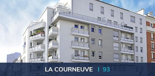 Programme immobilier neuf Résidence Alizarine à La Courneuve (93)